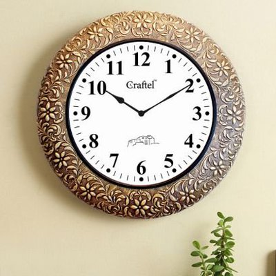 New Collection of Wall Clocks Online @ Wooden Street