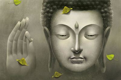 Buddha Murals for Tranquility in Your Space