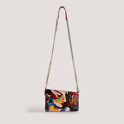 Iva Fashion Clutch convertible to Sling Bag