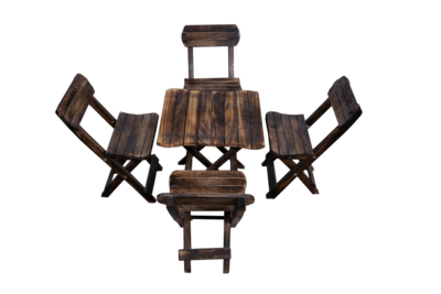 Child Chairs with Table  - 1