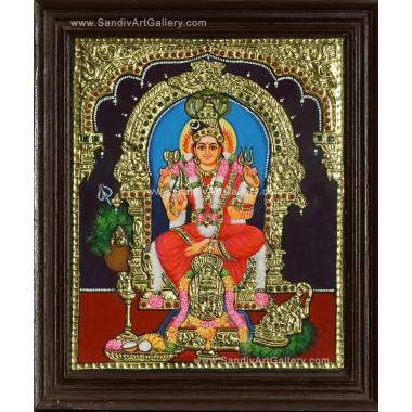 Buy Devi Karumaariamman Tanjore Paintings Online