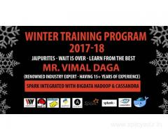 Winter Industrial Training 2017 on the most demanded technology
