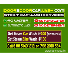 CAR CLEANING SERVICES AT YOUR DOORSTEP