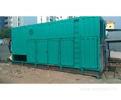 1010 kva and 750 kva dg set container type canopy