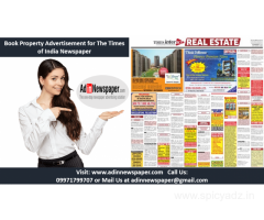 Times of India Property Advertisement