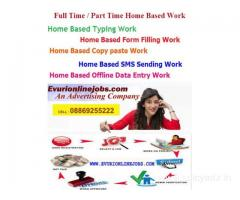 Online typing job earn rs 20000/month or more unlimited income.