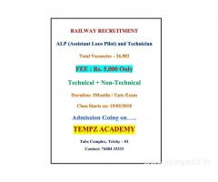 ASSISTANT LOCO pilot and technician coaching centre at trichy