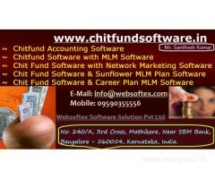 Chitfund , Chits and finance  management online  software with  free website Design.