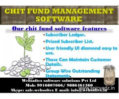 Online Chitfund accounting and investment management App.