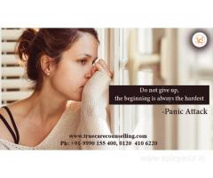 Counselling For Panic Attack in Noida and Delhi NCR | +91-9990155400