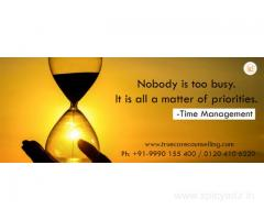 Counselling For Time Management in Noida and Delhi NCR | +91-9990155400