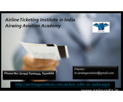 Airline Ticketing Institute in India Airwing Aviation Academy