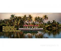 Kerala Backwaters Island Resorts - Munroeisland Lake Resort