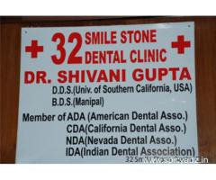 Adept Cosmetic Dentist in Delhi at 32 Smile Stone Dental Clinic