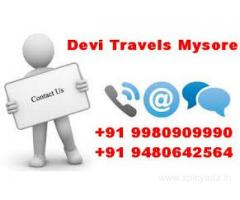 Best travels in mysore +91 9980909990  / +91 9480642564