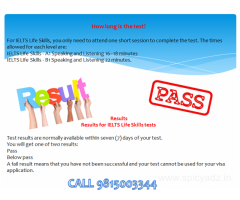 Ielts life skills Level A1 test centre in moga , ludhiana, bathinda,punjab