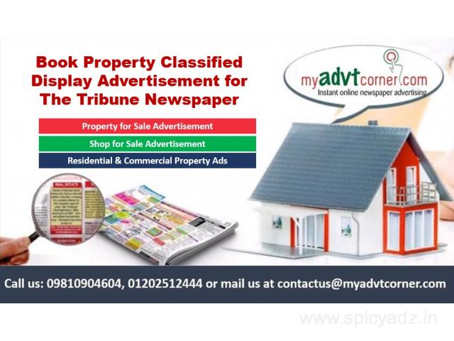 Property Classified Display Ads in The Tribune