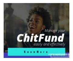 Manage and increase revenue with our Chit Fund Management Software