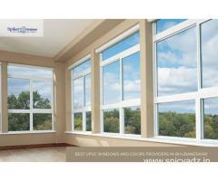 uPVC Windows and Doors for Villa, Home, Offices in India