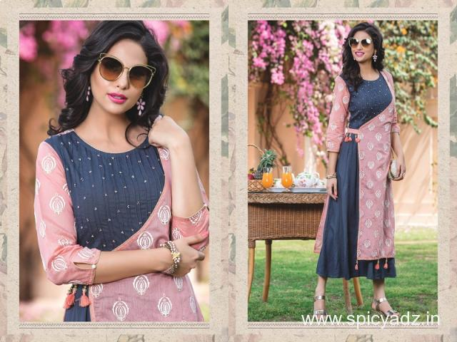 Get digital printed kurti sell by the top wholesalers in India - 2