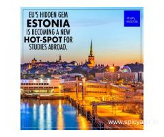 Estonia the new education hub for Indian students : Study Masters Bachelors in Estonia