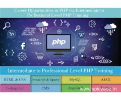 Gain Job Oriented Knowledge in IT Field with Best PHP Course in Delhi at SLA Consultants India