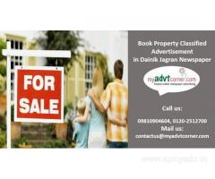 Property Advertisement for Any Newspapers