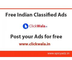 Free Indian Classified Ads - clickwala.in