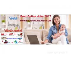 Online Job,Home Based Jobs for House wives, College students and who need to earn extra