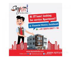 Service Apartments in Hyderabad | Fully Furnished Service Apartments in Gachibowli | Skynest Service
