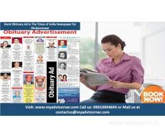 Obituary Ads in Times of India for Bhubaneswar