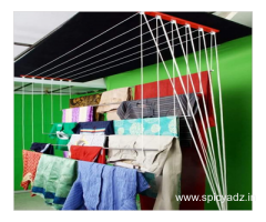 Ceiling Cloth Drying Hanger Call: 9663082325
