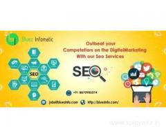 Bluez Infomatic a leading SEO service Provider in Tirupur