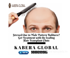FUE Hair Transplant in Delhi for Male Pattern baldness