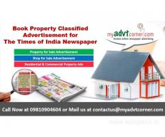 Times of India Rental Property Classified Advertisement
