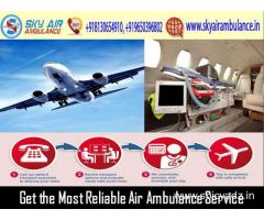 Rent the Modern Emergency Air Ambulance from Ranchi