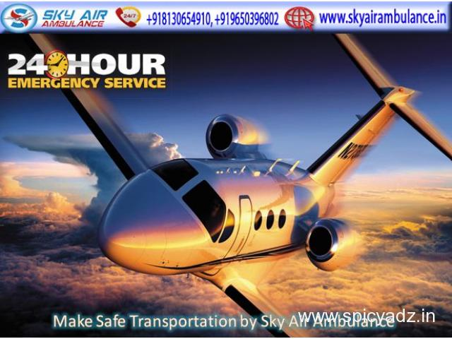 Receive Fastest Air Ambulance Services in Kolkata at Low-Cost