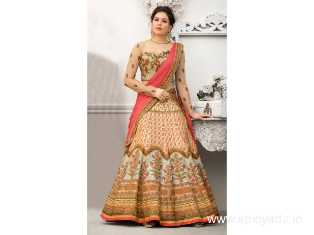 Latest Collection Of Party Wear Lehenga Choli At Mirraw
