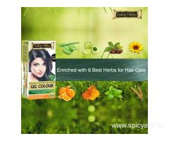 Buy Herbal and Organic Hair Color Online at best price