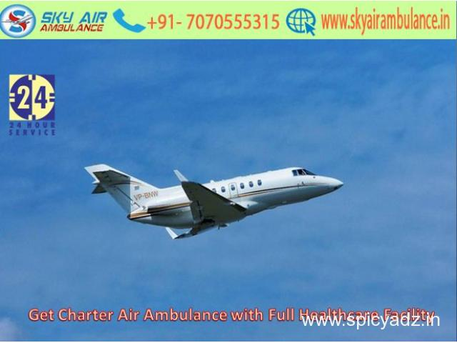 Take Tension Free Air Ambulance Service in Dimapur