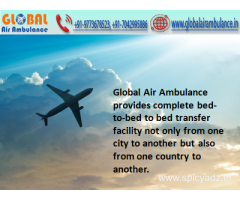 Global Air Ambulance Service in Mumbai with MD Doctors