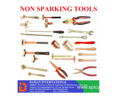 Daman-Non Sparking Open and Ring Spanners Manufacturers in India.