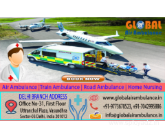 Quick Service by Global Air Ambulance Service in Jodhpur