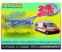 Global Air Ambulance Service in Kochi at Affordable-cost