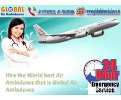 Global Air Ambulance in Darbhanga whereas not charging any further money