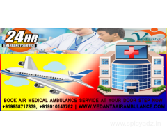 Good Comparison of pricing between hospitals- Vedanta Air Ambulance Guwahati