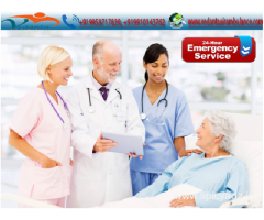 Equipped with excellent life support system by Vedanta Air Ambulance Patna