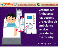 Quick Transfer by Vedanta Air Ambulance Service in Silchar