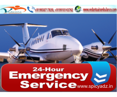 Vedanta Air Ambulance in Delhi with World-Class Transfer Facility