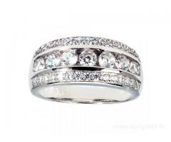 Buy 925 Silver Band Ring at ornate jewels